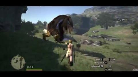 Griffin hunting tips (Griffin slain with only Rusted Daggers)