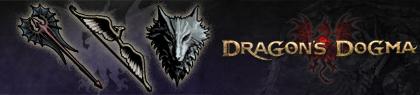 Vuelo del dragón, Azote de grifo y Colmillo del infierno como ejemplos del paquete