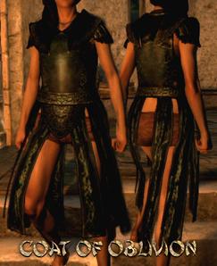Armour Torso Coat of Oblivion