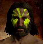 Bright Green Face Pigment