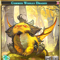 Common Woolly Dragon