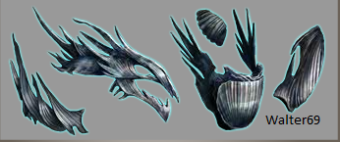 Waterdragoin armor
