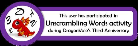 UnscramblingWordsParticipationBadge