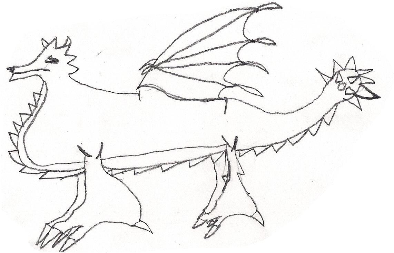 Dragonvale rainbow dragon coloring pages - Devil Dragon