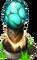 Turquoise Pedestal