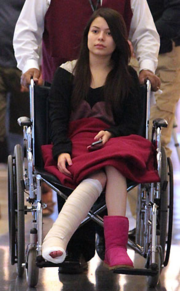 Miranda after an accident