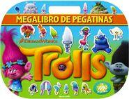 Trolls Megalibro de pegatinas-Dreamworks-9788408161264