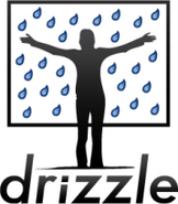 Person-over-drizzle