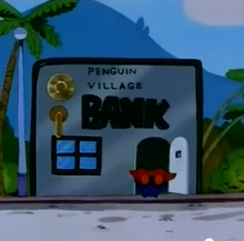 Penguin village bank anime