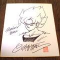 Akira Toriyama Autograph 20 by goku6384