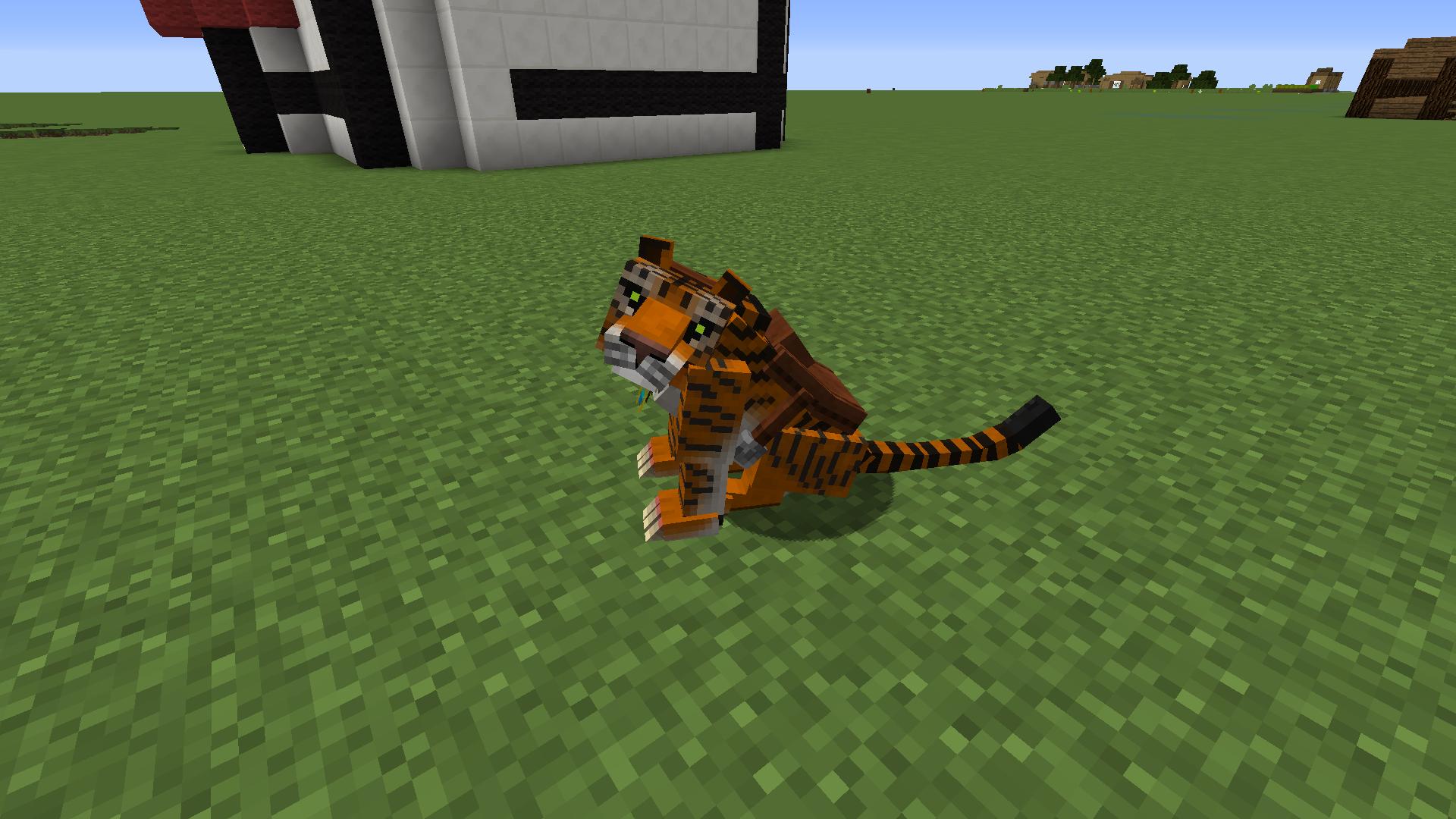 Big Cat Claw Crafting Minecraft