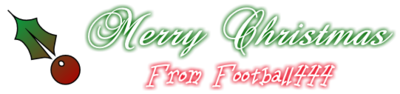 Merry Christmas - From Football444