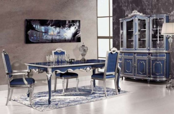 Extravagant Dining Room By Modenese Gastone Jpg E  E