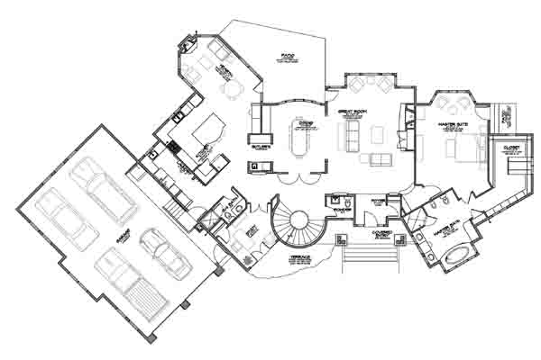 Four Bedroom Bungalow likewise Floor plans additionally Bar Of Chocolate Vector 11021459 together with 2 further Large Two Story With Prairie Style Feel. on simple home bar plans
