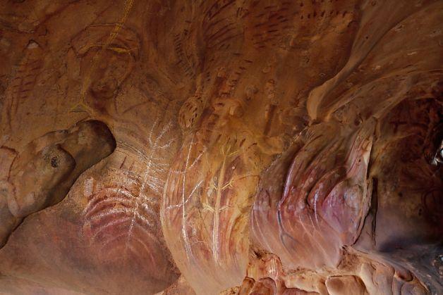 Image Dreamtime Aboriginal Cave Painting Jpg
