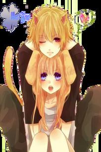 Cute neko couple by hinamori6457-d52thx1