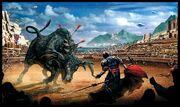 Paulus atreides and a salusan bull