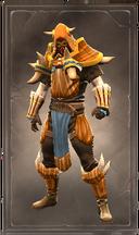 Conquering exalt armor