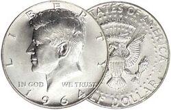 1964 US Silver Half Dollar