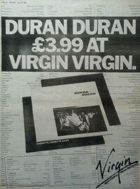 Duran duran advert virgin records wikipedia