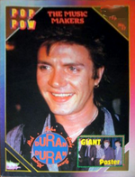 Pop pow 84 magazine duran duran simon le bon
