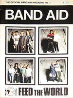 BAND AID magazine DEC 1984 DURAN DURAN,CULTURE CLUB,SPANDAU wikipedia