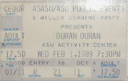 Ticket ASU Activity Center, Tempe, AZ, USA wikipedia duran duran