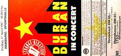 17 april 1987 duran ticket hamburg