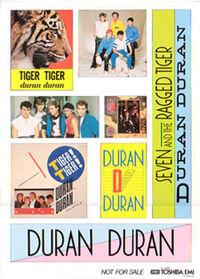 Duran-misc-stickersheet 32181 japan promo sticker zoom