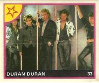 Duran duran portuguese sticker