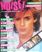Noise magazine duran duran no 11 september 30 1982
