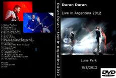 Dvd live in argentina 2012 duran duran wikipedia