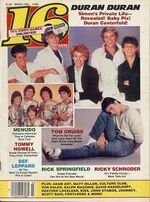 16 pop magazine duran duran band discogs discography music com timeline