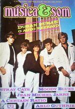 Portugal Magazine Musica & Som 1982 Duran Duran Stray Cats Jarre Moody Blues wikipedia