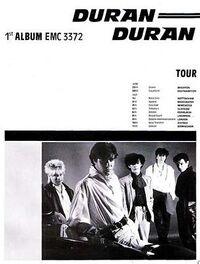 Duran dura tour ad