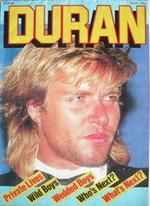 Duran Duran magazine - Pop 84 - Simon Le Bon cover (No 21)