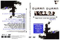 Fab five live collection 5 duran duran discogs wikipedia livefan romanduran