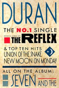 Poster duran duran the reflex