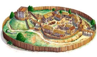 Medieval-village-villaggio-medievale