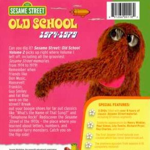 Sesame Street Old School Volume 2 Dvd Database Fandom