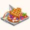 Tin Woodman's Heart Waffle (TMR)