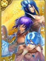 Three Watatsumi Gods (GT)