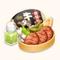 Broiled Beef Tongue Bento (TMR)