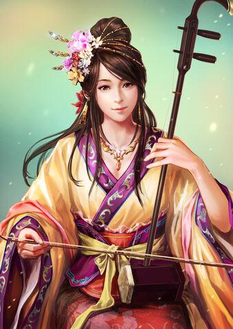 File:Xiaoqiao (ROTK13).jpg