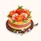 Chirashi Cake (TMR)