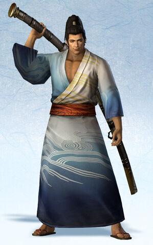 File:Munenori Yagyu Yukata Costume (SW4E DLC).jpg