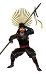 Hideyoshi Hashiba Render (SP - NATS)