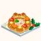 Christmas Wreath Bread Stew (TMR)