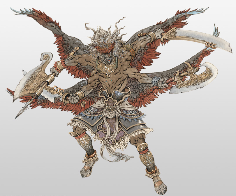 Warriors Orochi 3 Ultimate Weapons Big Star: Image - Hundun Concept (WO3U).jpg
