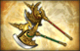 Big Star Weapon - Golden Axes